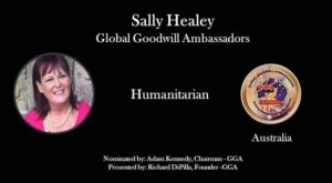 global good will ambassador sally healey